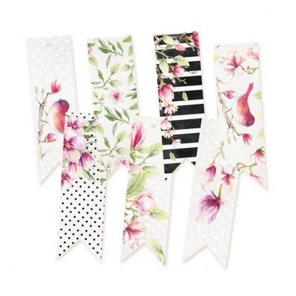 Scrapbooking akcesoria - Wycinanki z papieru - zestaw 7 tagów - Hello Beautifful 02 - P13