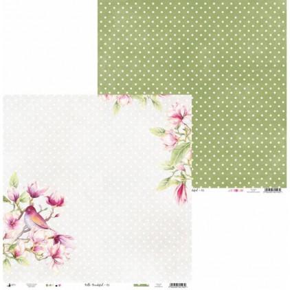 Papier do scrapbookingu 30x30cm - Hello Beautiful 05 - P13