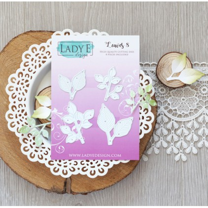 Scrapbooking - Wykrojniki do papieru - Liście - Lady E Design - Leaves 8