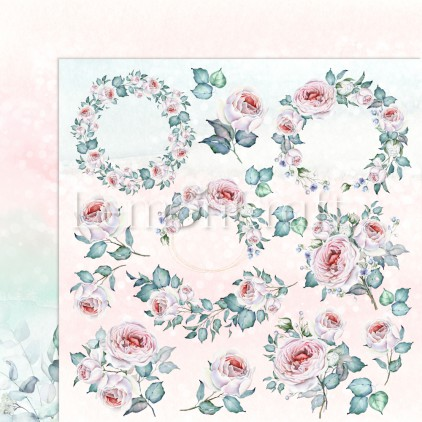 Blush 05 - Lemoncraft - Double-sided scrapbooking paper