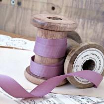 Grosgrain ribbon, 1 meter - heather