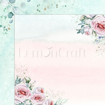 Blush 01 - Lemoncraft - Double-sided scrapbooking paper