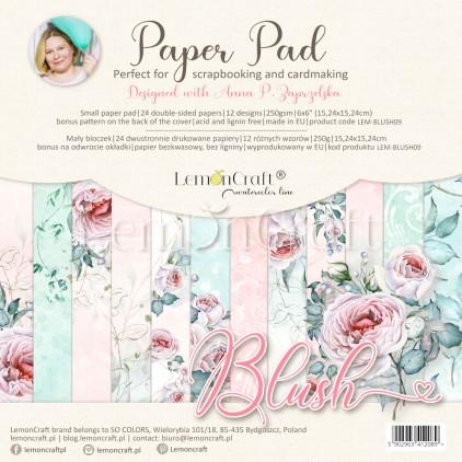 Blush - Pad scrapbooking papers 15x15cm - Lemoncraft - LEM-BLUSH09
