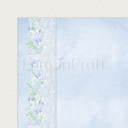 Serenity 05 - Lemoncraft - Double-sided scrapbooking paper
