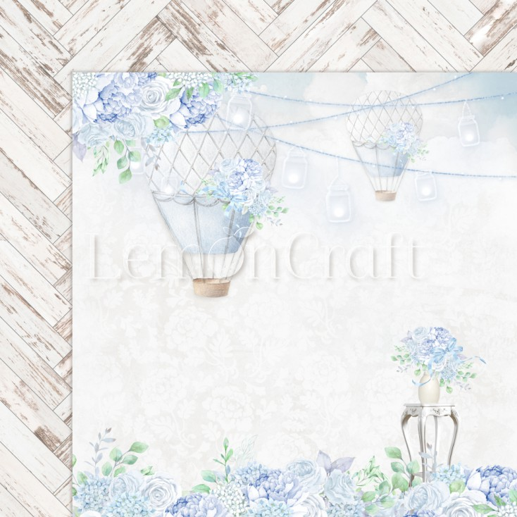 Serenity 02 - Lemoncraft - Double-sided scrapbooking paper