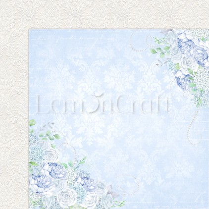 Serenity 01 - Lemoncraft - Double-sided scrapbooking paper