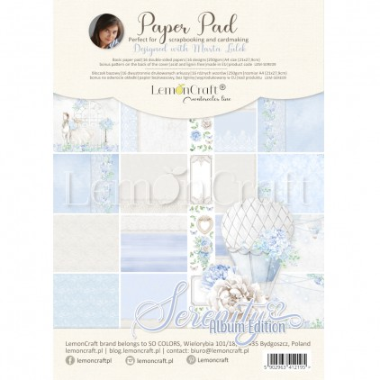 Serenity Album Edition - Pad scrapbooking papers 21x29cm - Lemoncraft