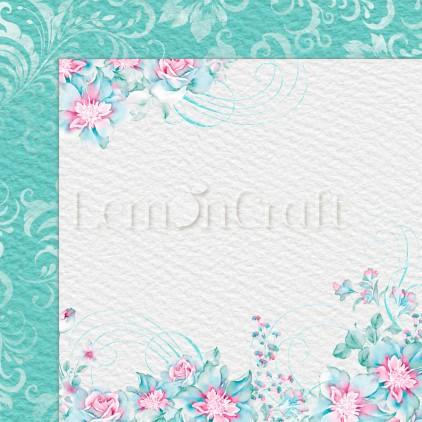Silence 05 - Lemoncraft - Double-sided scrapbooking paper