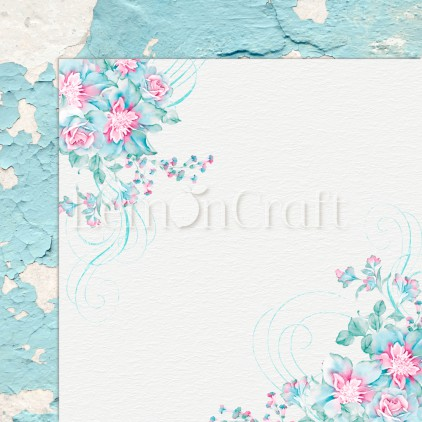 Silence 02 - Lemoncraft - Double-sided scrapbooking paper