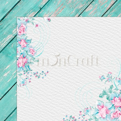 Silence 01 - Lemoncraft - Double-sided scrapbooking paper