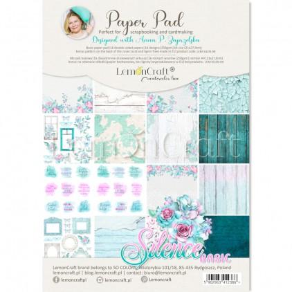 Silence - Pad scrapbooking papers 21x29cm - Lemoncraft - LEM-SILEN08 Basic