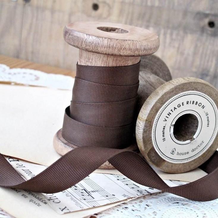 Wstążka rypsowa, 1 metr - gorzka czekolada
