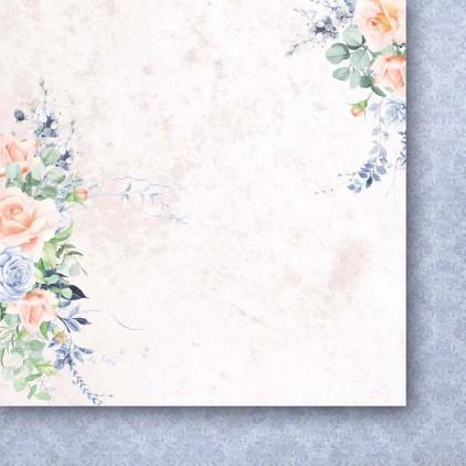 Papier do scrapbookingu 30x30cm - Noce i dnie 01 - Paper Heaven