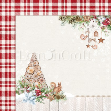 Scrapbooking paper - Lemoncraft - This Christmas 05 - LEM-TSCHR05