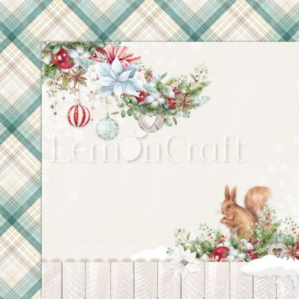 Scrapbooking paper - Lemoncraft - This Christmas 02 - LEM-TSCHR02