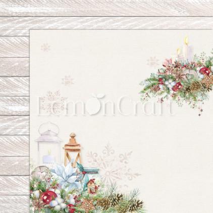 Papier do scrapbookingu - Lemoncraft - This Christmas 01 - LEM-TSCHR01