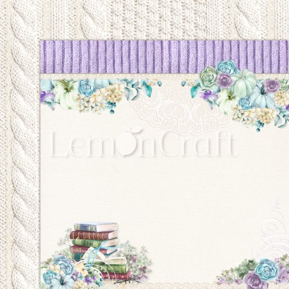 Scrapbooking paper - Lemoncraft - Autumn Twilight 06 - LEM-ATWIL06