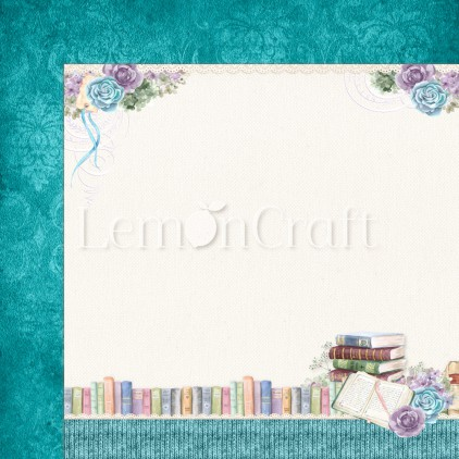Scrapbooking paper - Lemoncraft - Autumn Twilight 05 - LEM-ATWIL05