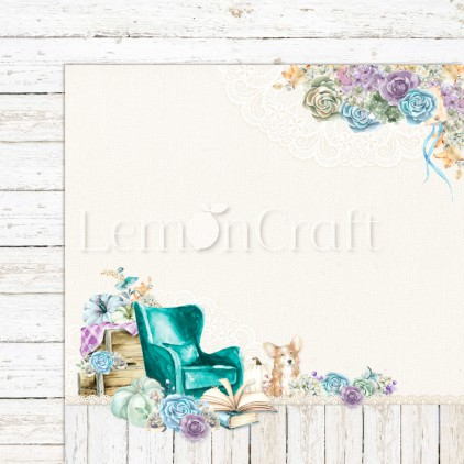 Scrapbooking paper - Lemoncraft - Autumn Twilight 03 - LEM-ATWIL03