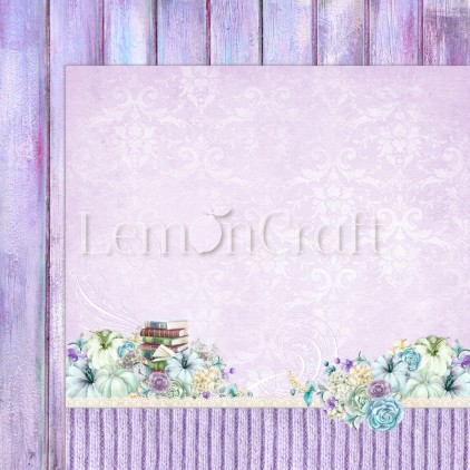 Scrapbooking paper - Lemoncraft - Autumn Twilight 01 - LEM-ATWIL01