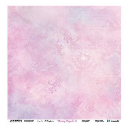 Blooming Magnolia 05/06 - Scrapbooking paper 30 x 30 cm - ScrapAndMe