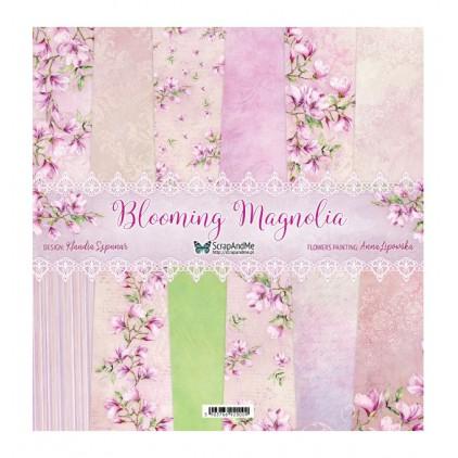 Blooming Magnolia - Papiery do scrapbookingu 30x30cm - Zestaw - ScrapAndMe