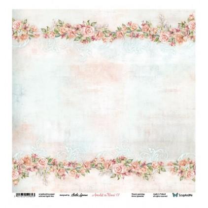 Amidst the Roses 07/08 - Papier do scrapbookingu 30 x 30 cm - ScrapAndMe