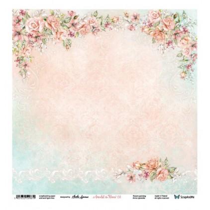 Amidst the Roses 03/04 - Papier do scrapbookingu 30 x 30 cm - ScrapAndMe