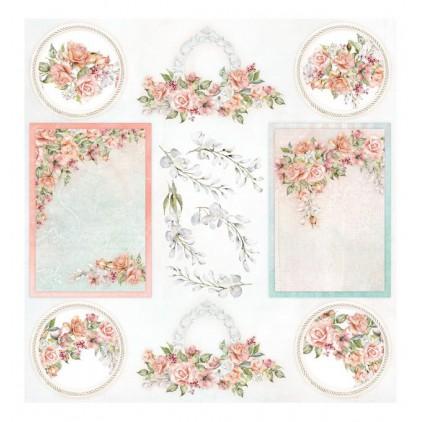 Elementy do wycinania 30 x 30 cm 30 x 30 cm - Amidst the Roses okładka - ScrapAndMe