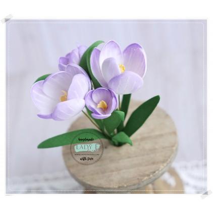 Wykrojniki do papieru - Flower 7 Crocus - Lady E Design