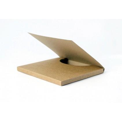 Card base - big chocolate holder - craft - Rzeczy z Papieru
