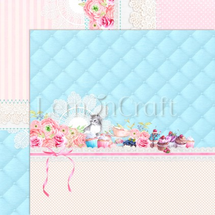 Something Sweet 02 - Lemoncraft - Double-sided scrapbooking paper