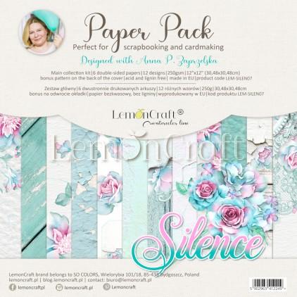 Silence - Zestaw papierów do scrapbookingu 30x30cm - Lemoncraft