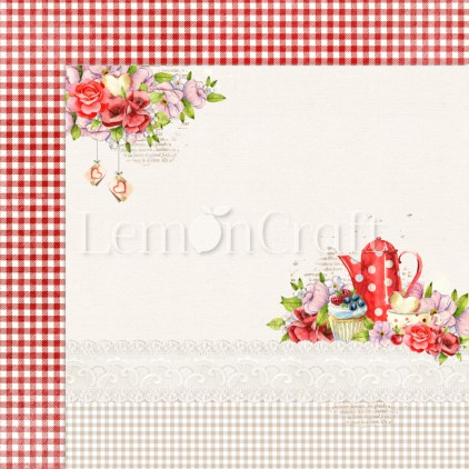 Delicious 06 - Lemoncraft - Double-sided scrapbooking paper