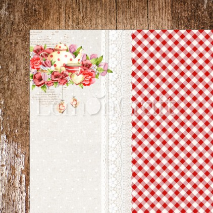 Delicious 02 - Lemoncraft - Double-sided scrapbooking paper