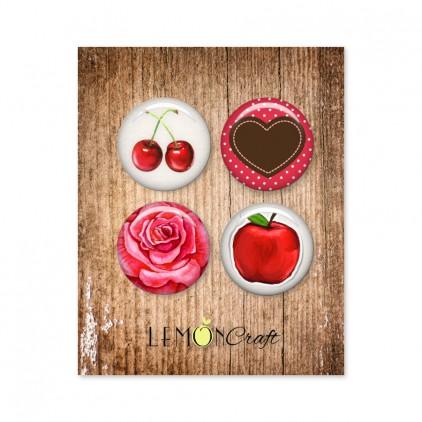 Buttons / badge - Delicious - Lemoncraft -