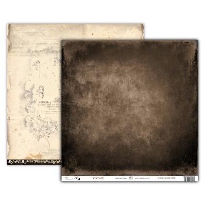 Art Journal VINTAGE - Scrapbooking paper 30 x 30 cm - UHK Gallery