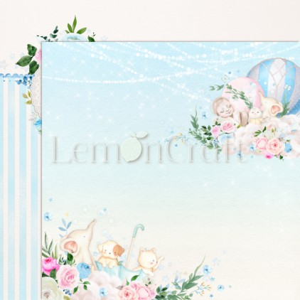 Baby Boom 06 - Lemoncraft - Double-sided scrapbooking paper