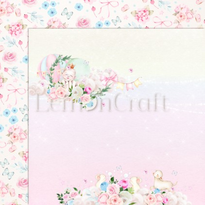 Baby Boom 05 - Lemoncraft - Double-sided scrapbooking paper