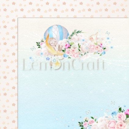 Baby Boom 02 - Lemoncraft - Double-sided scrapbooking paper