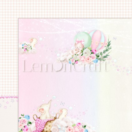 Baby Boom 01 - Lemoncraft - Double-sided scrapbooking paper