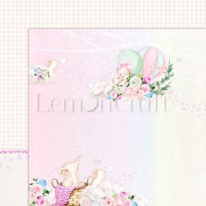Baby Boom 01 - Lemoncraft - Dwustronny papier do scrapbookingu