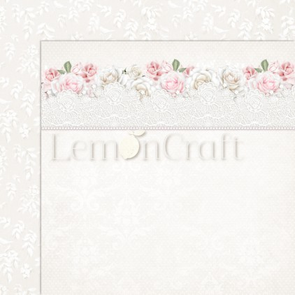 Elegance 02 - Lemoncraft - Double-sided scrapbooking paper