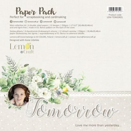 Tomorrow - Lemoncraft - Zestaw papierów do scrapbookingu 30x30cm