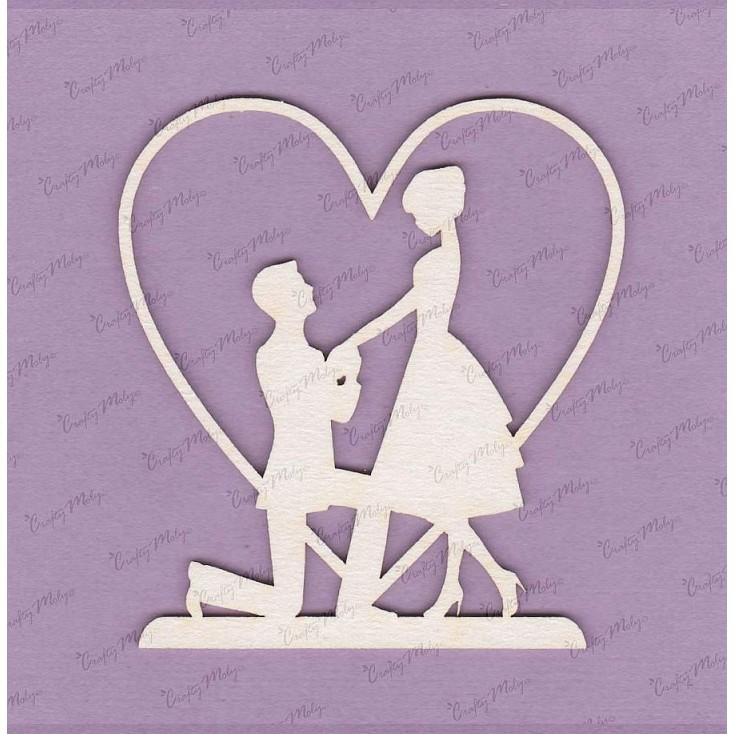 Crafty Moly - Tekturka - Wyznaję Ci miłość...