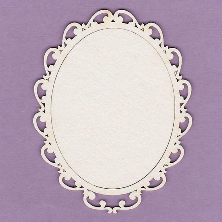 Crafty Moly - Cardboard element - Wiktoria frame