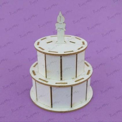 Tekturka 3D tort - Crafty Moly 740