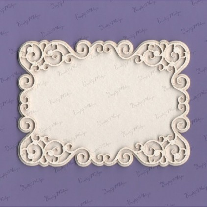 Kelly 2 frame laser cut, chipboard - Crafty Moly 959