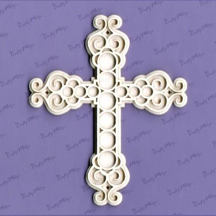 tekturka krzyż 3 Crafty Moly 968