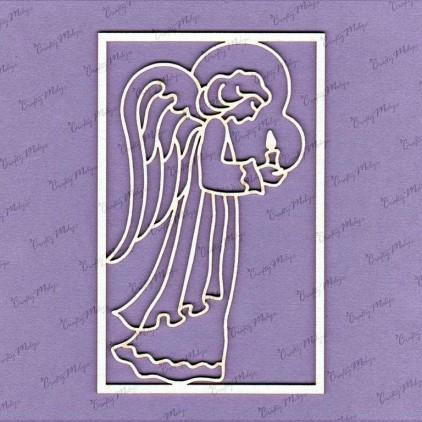 cardboard element angel - Crafty Moly 671